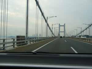 瀬戸大橋の利用料も1,000円 -高松市で私用-