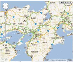 Google Maps v3の利用 -(1)地図の表示-