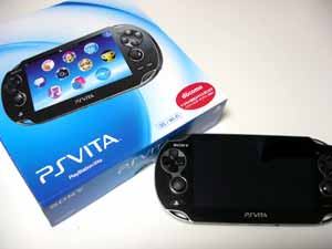 """新携帯ゲーム機""""PS Vita 3G/Wi-fiモデル""""が届いたのだが"""