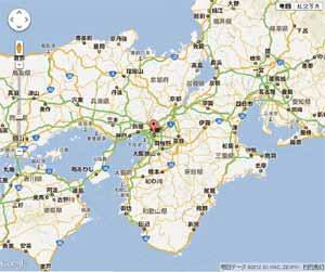 Google Maps v3の利用 -(2)マーカーの表示-