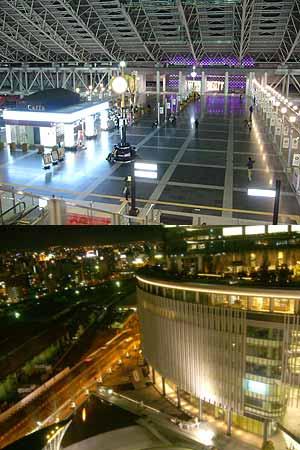 大阪駅構内の時空の広場と展望台