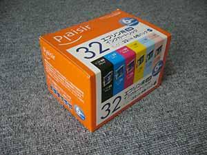 純正ではないプリンタインク -Plaisir IC6CL32互換-