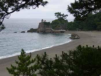 坂本竜馬が見下ろす太平洋 -高知桂浜(2)-