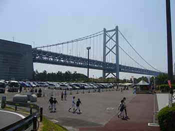 地方テーマパークへ -瀬戸大橋とレオマワールド-