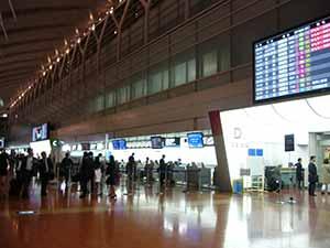綺麗になった羽田空港、搭乗手続きも簡単になった