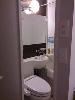 トイレとバス