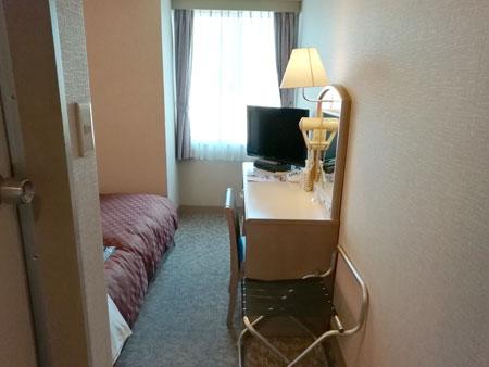 松江アーバンホテル(ドア入ってすぐ)